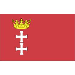 Flaga Polska stylon 100x160...